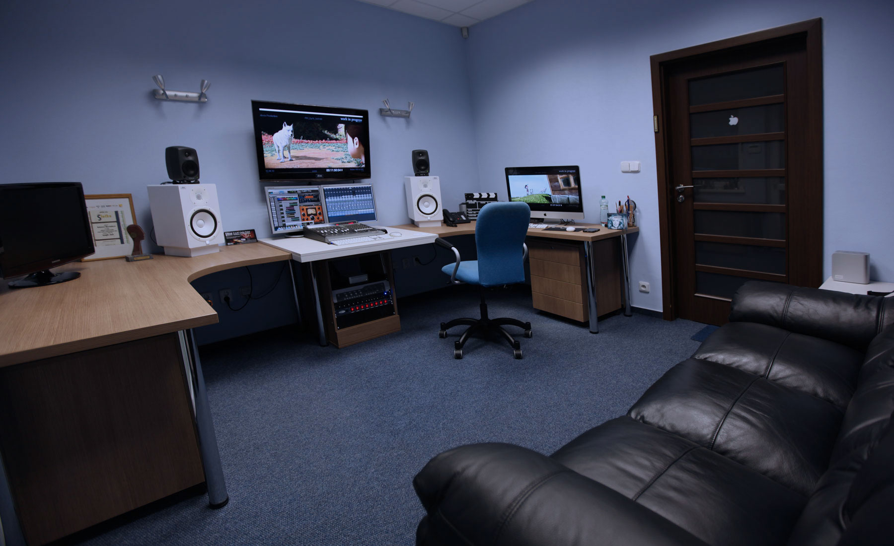 Dimas-authoringové štúdio blue DVD, Blu-ray